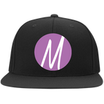 Moore Marketing Icon Flat Bill Cap Hats- Warrior Design Co. | Quality Affordable Branding Solutions
