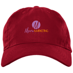 Moore Marketing Unstructured Cap Hats- Warrior Design Co. | Quality Affordable Branding Solutions