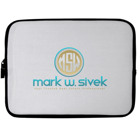 Mark Sivek Laptop Sleeve - 10 inch Laptop Sleeves- Warrior Design Co. | Quality Affordable Branding Solutions