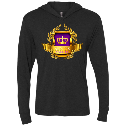 King's Salute Hooded T-Shirt T-Shirts- Warrior Design Co. | Quality Affordable Branding Solutions