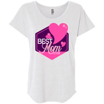 Best Mom Ever Women's Triblend Dolman Sleeve T-Shirts- Warrior Design Co. | Quality Affordable Branding Solutions