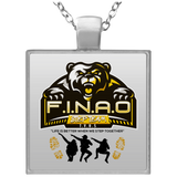 FINAO Square Necklace Jewelry- Warrior Design Co. | Quality Affordable Branding Solutions