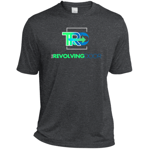 The Revolving Door Moisture-Wicking T-Shirt T-Shirts- Warrior Design Co. | Quality Affordable Branding Solutions