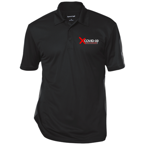 X Covid-19 Three-Button Polo Polo Shirts- Warrior Design Co. | Quality Affordable Branding Solutions