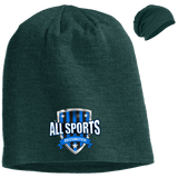 All Sports Recruiter Slouch Beanie Hats- Warrior Design Co. | Quality Affordable Branding Solutions