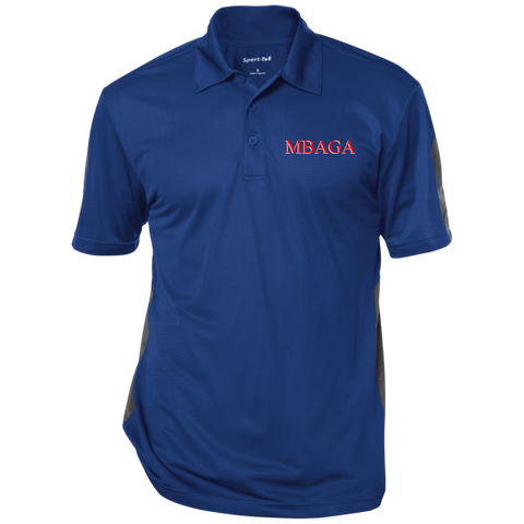 MBAGA Textured Three-Button Polo Polo Shirts- Warrior Design Co. | Quality Affordable Branding Solutions