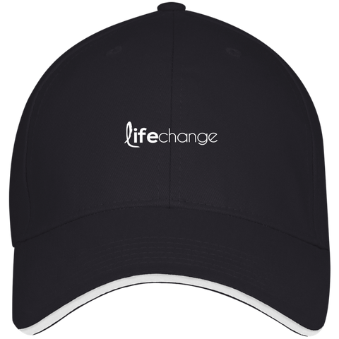 Life Change Visor Hat Hats- Warrior Design Co. | Quality Affordable Branding Solutions