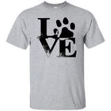 Dog Love Men's T-Shirt T-Shirts- Warrior Design Co. | Quality Affordable Branding Solutions