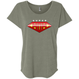 Super Mom Women's Triblend Dolman Sleeve T-Shirts- Warrior Design Co. | Quality Affordable Branding Solutions