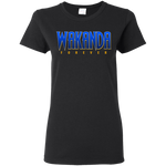 Wakanda Women's T-Shirt T-Shirts- Warrior Design Co. | Quality Affordable Branding Solutions