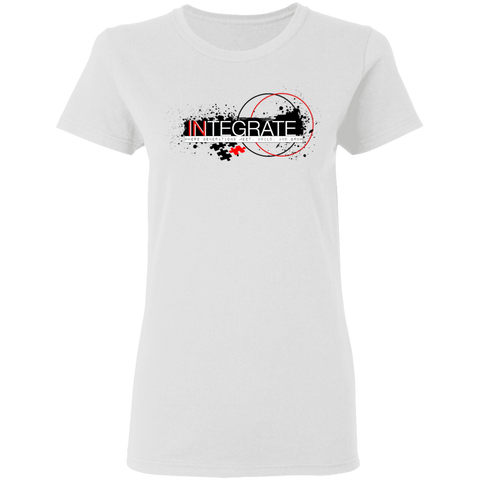 Integrate Women's T-Shirt T-Shirts- Warrior Design Co. | Quality Affordable Branding Solutions