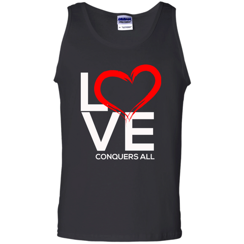 Love Conquers All  Men's Tank Top - Warrior Design Co. | Quality Affordable Branding Solutions