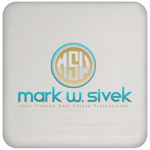 Mark Sivek Coaster Drinkware- Warrior Design Co. | Quality Affordable Branding Solutions