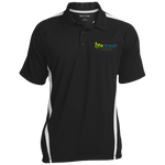 Life Change Colorblock 3-Button Polo Polo Shirts- Warrior Design Co. | Quality Affordable Branding Solutions