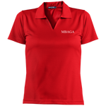 MBAGA Short Sleeve Polo Polo Shirts- Warrior Design Co. | Quality Affordable Branding Solutions