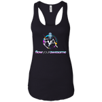 Flow Your Awesome  Women's Tank T-Shirts- Warrior Design Co. | Quality Affordable Branding Solutions