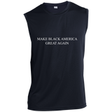 MBAGA Sleeveless Performance T-Shirt T-Shirts- Warrior Design Co. | Quality Affordable Branding Solutions
