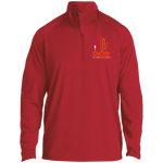 CHOISI 1/2 Zip Raglan Performance Pullover Jackets- Warrior Design Co. | Quality Affordable Branding Solutions