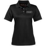 Duggan's Distillers Women's Performance Polo Polo Shirts- Warrior Design Co. | Quality Affordable Branding Solutions