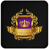 King's Salute Coaster Drinkware- Warrior Design Co. | Quality Affordable Branding Solutions