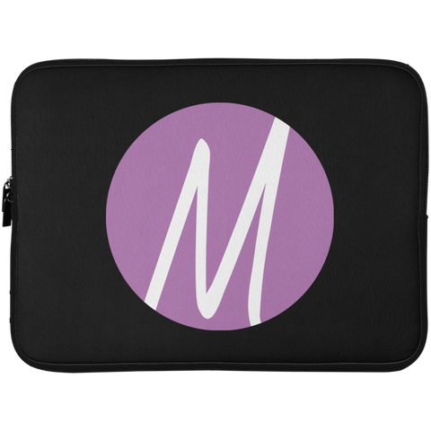 MM (icon) Laptop Sleeve - 15 Inch Laptop Sleeves- Warrior Design Co. | Quality Affordable Branding Solutions