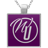 Worship Unleashed Square Necklace Jewelry- Warrior Design Co. | Quality Affordable Branding Solutions