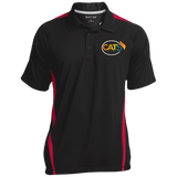 Cat 5 Colorblock 3-Button Polo Polo Shirts- Warrior Design Co. | Quality Affordable Branding Solutions