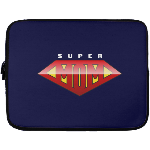 Super Mom Laptop Sleeve - 13 inch Laptop Sleeves- Warrior Design Co. | Quality Affordable Branding Solutions