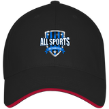 All Sports Recruiter Visor Hat Hats- Warrior Design Co. | Quality Affordable Branding Solutions