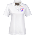 Life Change Outreach Women's Performance Polo Polo Shirts- Warrior Design Co. | Quality Affordable Branding Solutions