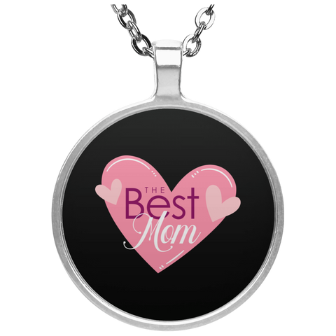 Best Mom Circle Necklace Jewelry- Warrior Design Co. | Quality Affordable Branding Solutions