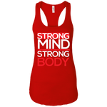 Strong Mind Strong Body Women's Tank T-Shirts- Warrior Design Co. | Quality Affordable Branding Solutions