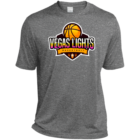 Vegas Lights Moisture-Wicking T-Shirt T-Shirts- Warrior Design Co. | Quality Affordable Branding Solutions
