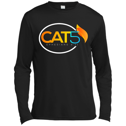 Cat 5 Moisture Absorbing T-Shirt T-Shirts- Warrior Design Co. | Quality Affordable Branding Solutions