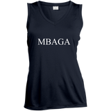 MBAGA Women's Moisture Absorbing V-Neck T-Shirts- Warrior Design Co. | Quality Affordable Branding Solutions