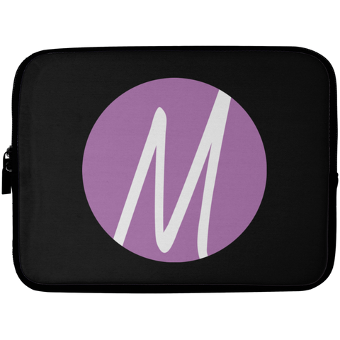 MM (icon) Laptop Sleeve - 10 inch Laptop Sleeves- Warrior Design Co. | Quality Affordable Branding Solutions