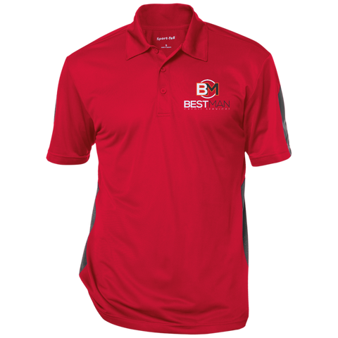Best Man Three-Button Polo - Warrior Design Co. | Quality Affordable Branding Solutions