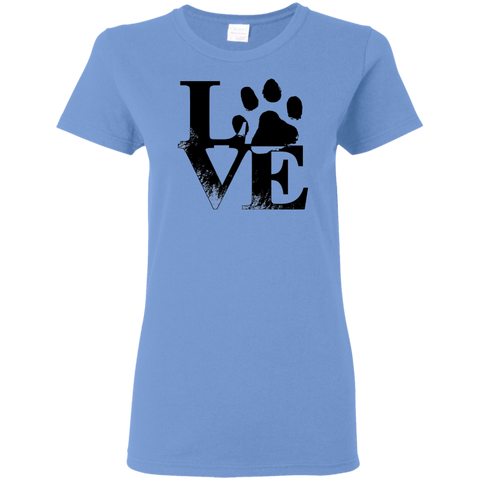Dog Love Women's T-Shirt - Warrior Design Co. | Quality Affordable Branding Solutions