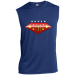 Super Mom Sleeveless Performance T-Shirt T-Shirts- Warrior Design Co. | Quality Affordable Branding Solutions