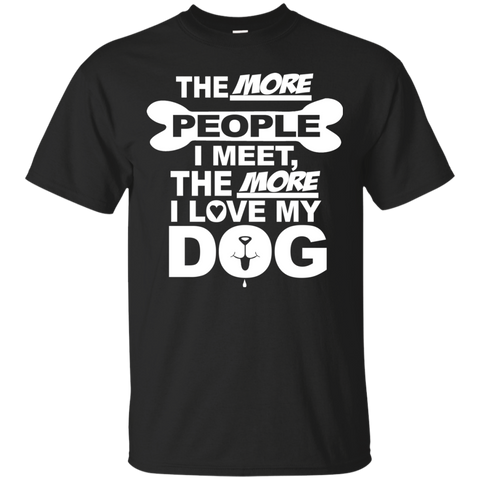 Dog > People Men's T-Shirt - Warrior Design Co. | Quality Affordable Branding Solutions