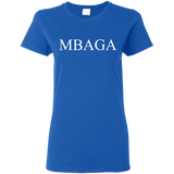 MBAGA Women's T-Shirt T-Shirts- Warrior Design Co. | Quality Affordable Branding Solutions