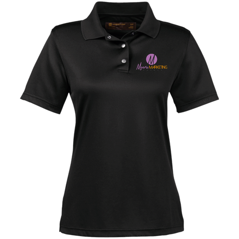 Moore Marketing Women's Performance Polo Polo Shirts- Warrior Design Co. | Quality Affordable Branding Solutions