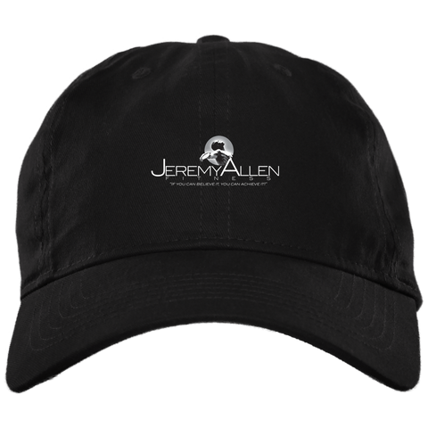 Jeremy Allen Unstructured Dad Cap Hats- Warrior Design Co. | Quality Affordable Branding Solutions