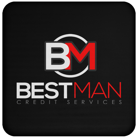 Best Man Coaster Drinkware- Warrior Design Co. | Quality Affordable Branding Solutions