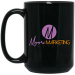 MM 15 oz. Black Mug Drinkware- Warrior Design Co. | Quality Affordable Branding Solutions