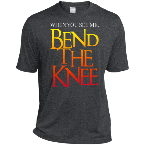 Bend the Knee Moisture-Wicking T-Shirt T-Shirts- Warrior Design Co. | Quality Affordable Branding Solutions