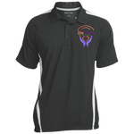 Life Change Outreach Colorblock 3-Button Polo Polo Shirts- Warrior Design Co. | Quality Affordable Branding Solutions