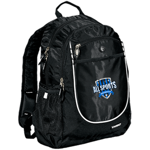 All Sports Recruiter Rugged Bookbag Bags- Warrior Design Co. | Quality Affordable Branding Solutions