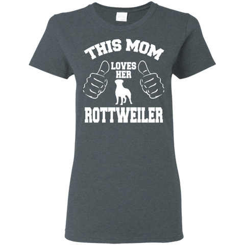 Rottweiler Love Women's T-Shirt T-Shirts- Warrior Design Co. | Quality Affordable Branding Solutions
