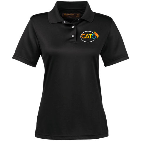Cat 5 Women's Performance Polo Polo Shirts- Warrior Design Co. | Quality Affordable Branding Solutions